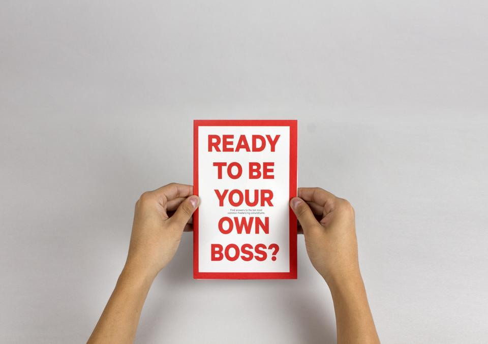 Best Awards - The Pond. / Ready to be your own boss?
