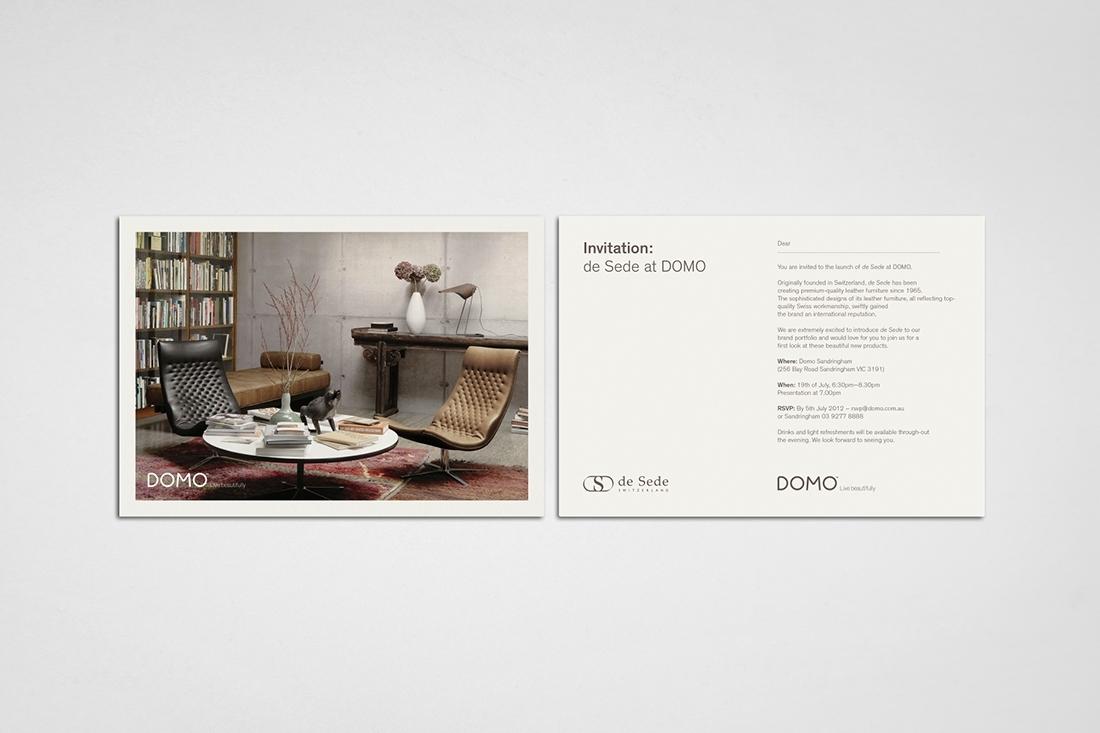 Hunt Studio | Multi-disciplinary design studio | Melbourne — de Sede at DOMO