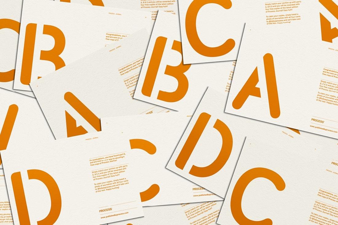 Hunt Studio | Multi-disciplinary design studio | Melbourne — Process: Promotional Cards