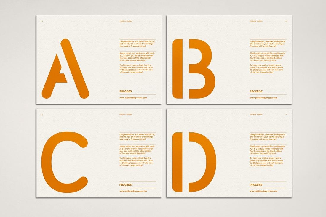 Hunt Studio   Multi-disciplinary design studio   Melbourne — Process: Promotional Cards