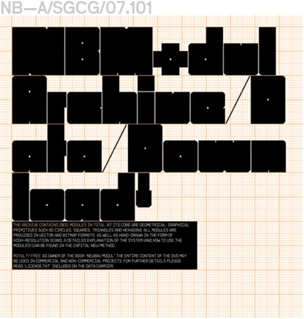 Neubau (Berlin)/NB-Modul, Archive (Data Download)