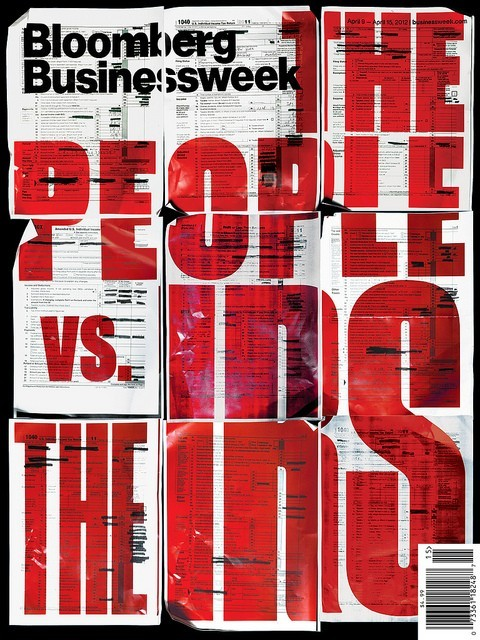 Bloomsberg Businessweek, April 9–15, 2012 - Fonts In Use