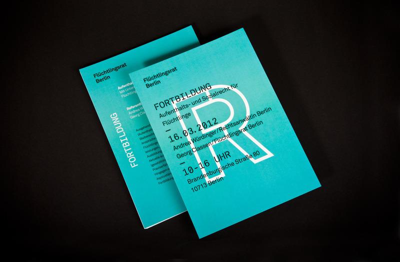 Flüchtlingsrat Berlin - 2012 - Paul Leichtfried – Visual Communication