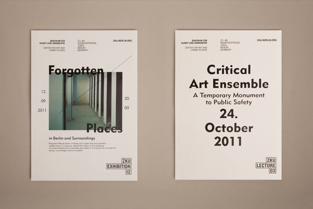 Zentrum für Kunst und Urbanistik - 2012 - Paul Leichtfried – Visual Communication