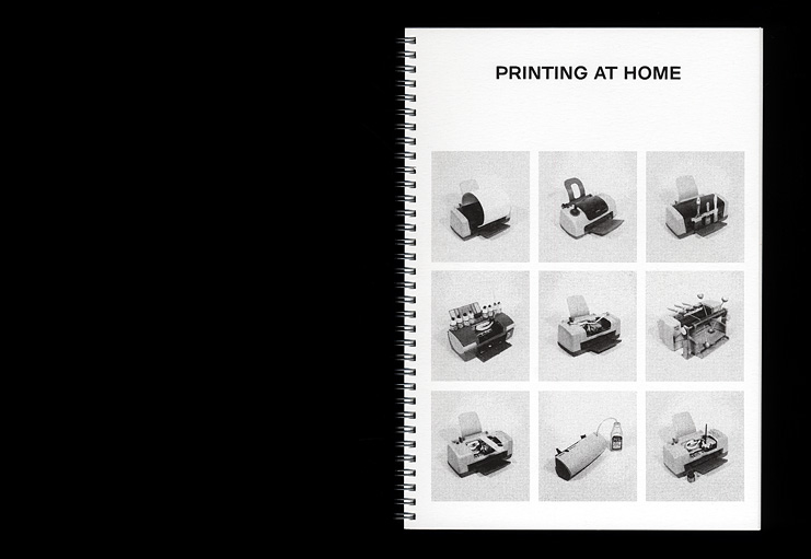 xavier antin / Printing at Home