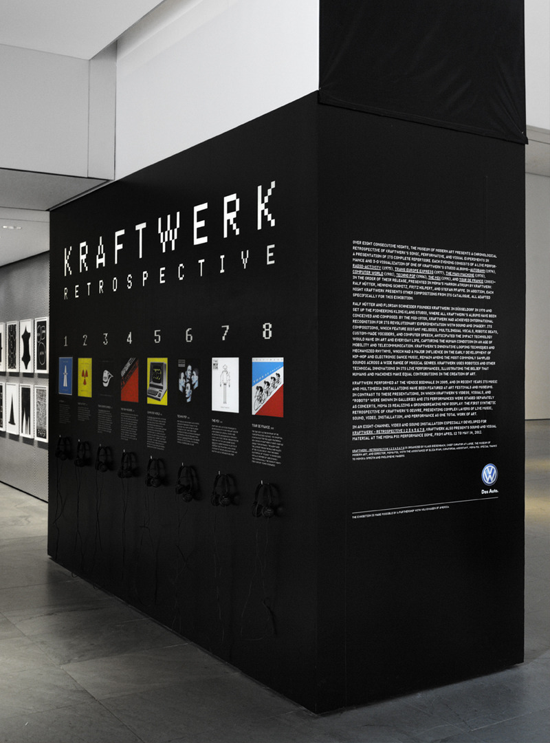 Kraftwerk The Department of Advertising and Graphic