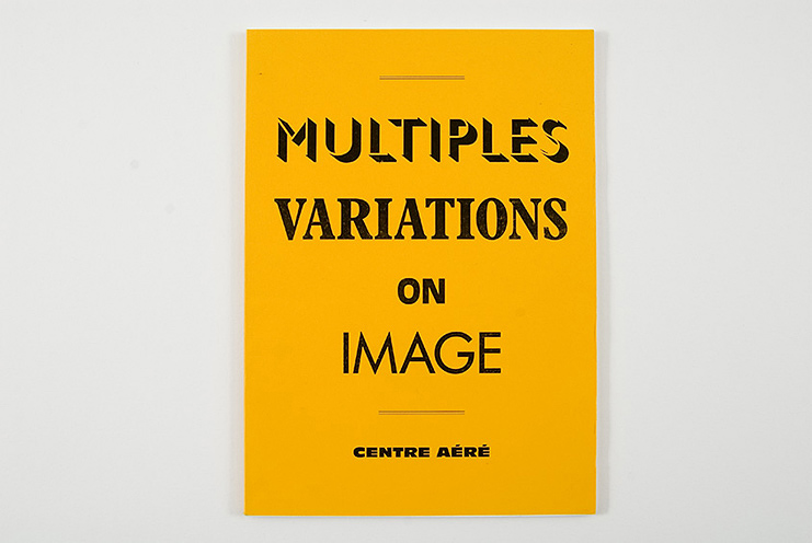 xavier antin / Centre Aéré: Multiples Variations N°1