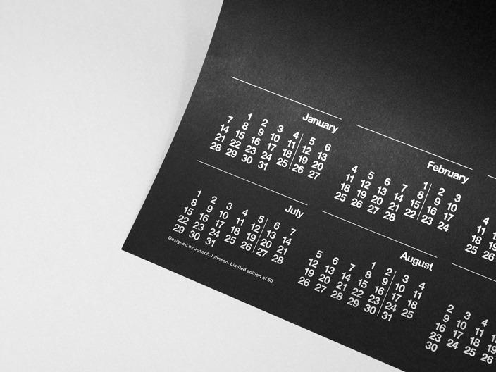2013 Calendar - Joseph Johnson