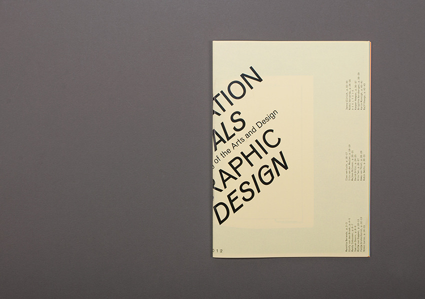 David Ortiz | ArtEZ Graduation Show 2012 | identity, poster, catalogue, exhibition