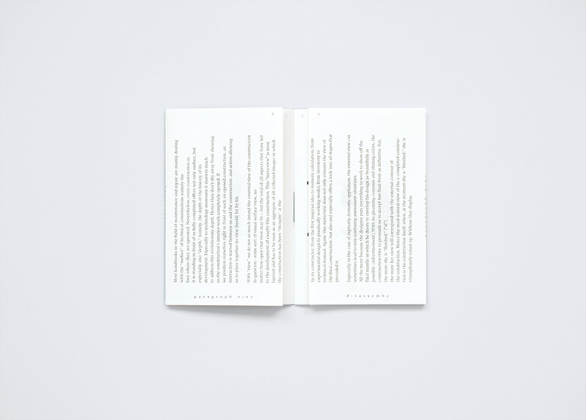 David Ortiz | Disassembly | editorial design, typography