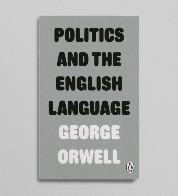 Creative Review - Orwell, covered up