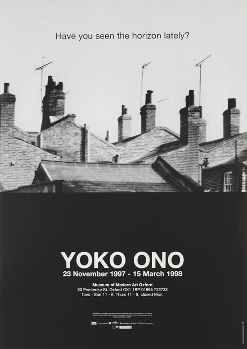 Modern Art Oxford 50:50 | 28. Yoko Ono, Have you seen the horizon lately?