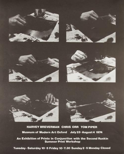 Modern Art Oxford 50:50   21. Harvey Breverman, Chris Orr, Tom Piper