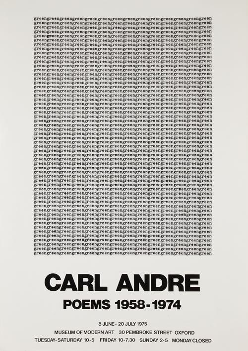 Modern Art Oxford 50:50 | 10. Carl Andre