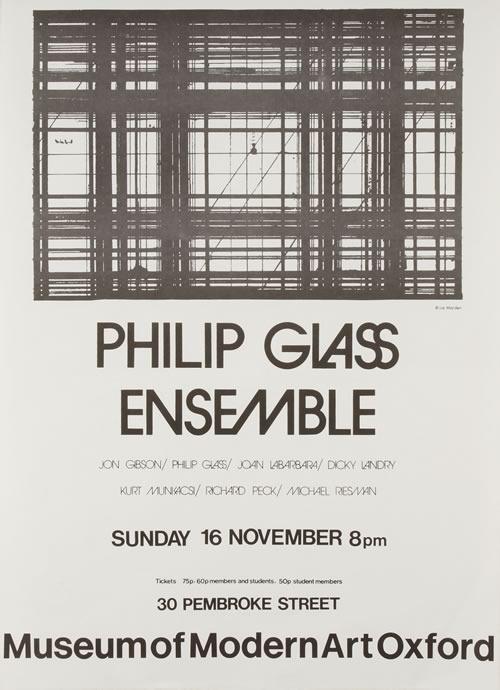 Modern Art Oxford 50:50 | 41. Philip Glass Ensemble