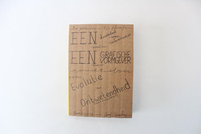 Evolutie van ontwetendheid - Portfolio | Paul Nieboer