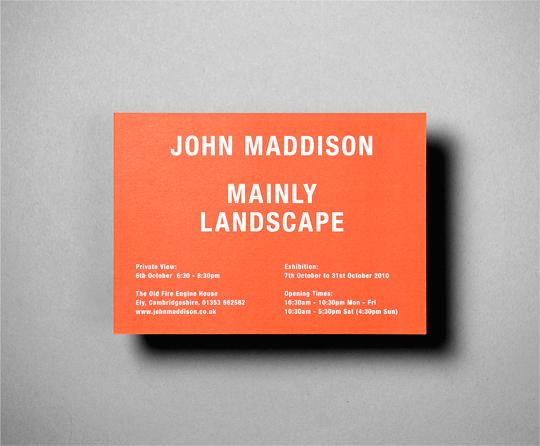 John Maddison - Mainly Lanscpape