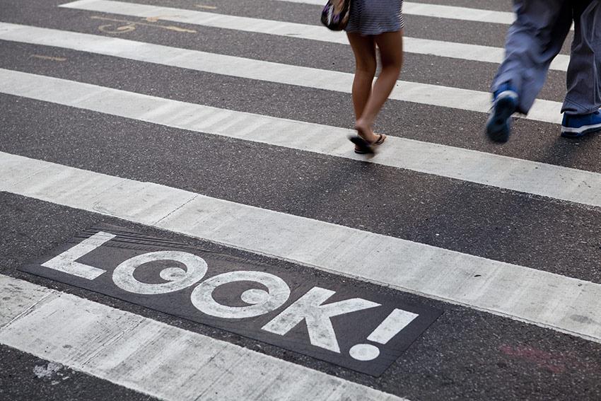 NYC DOT LOOK! : Hamish Smyth