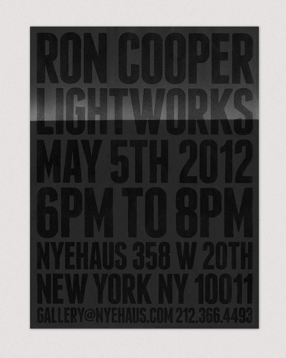 Ron Cooper — Lightworks - Kyle LaMar