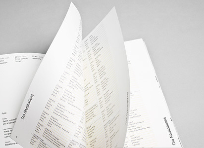 Awards Ceremony & Dinner 2010 | Bibliothèque Design