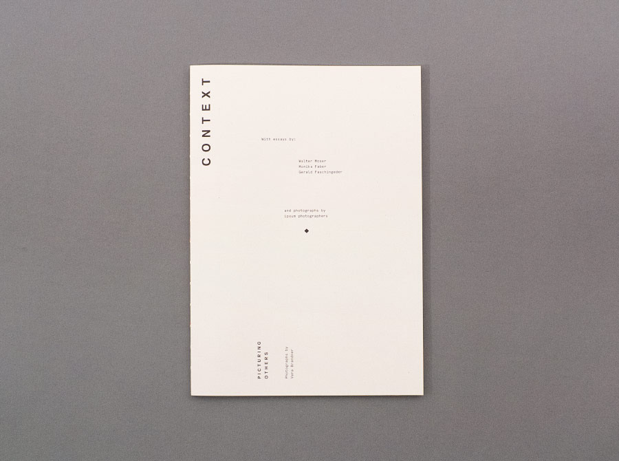 Picturing Others - Manuel Radde — Graphic Design