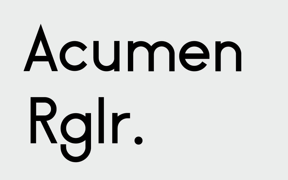 Acumen - v2a / Bench li