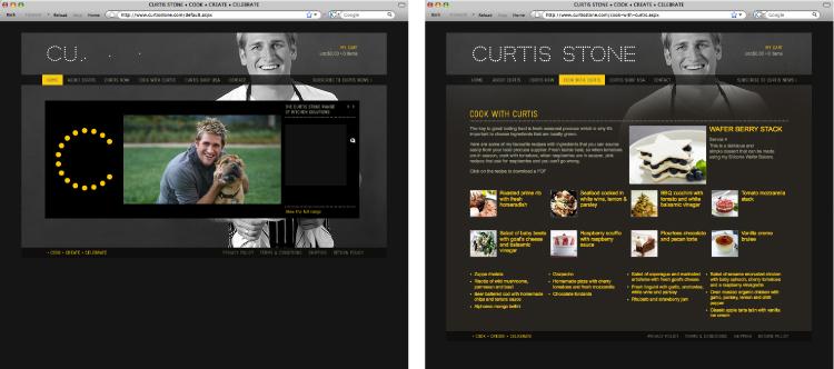 Selected Work - Curtis Stone - studio round | multi-disciplinary design | melbourne, australia