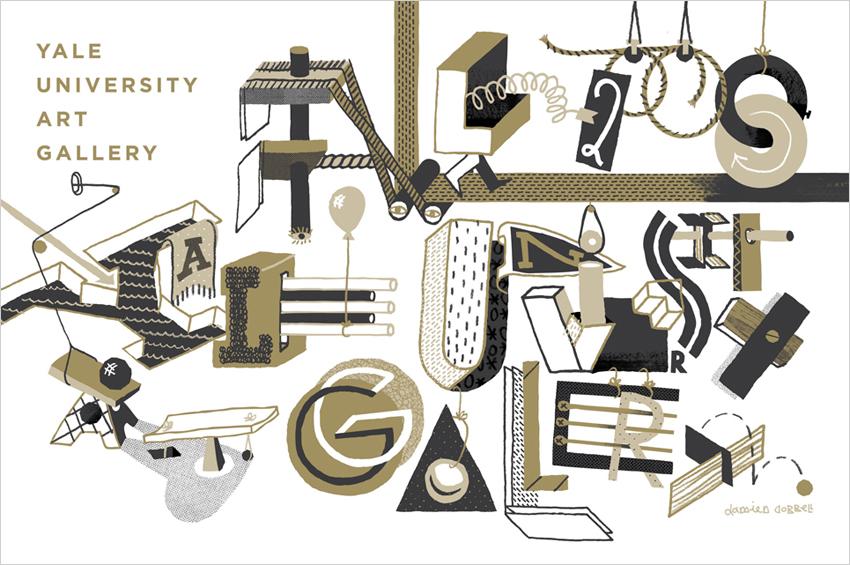 DAMIEN ? CORRELL // Yale University Art Gallery Calendar