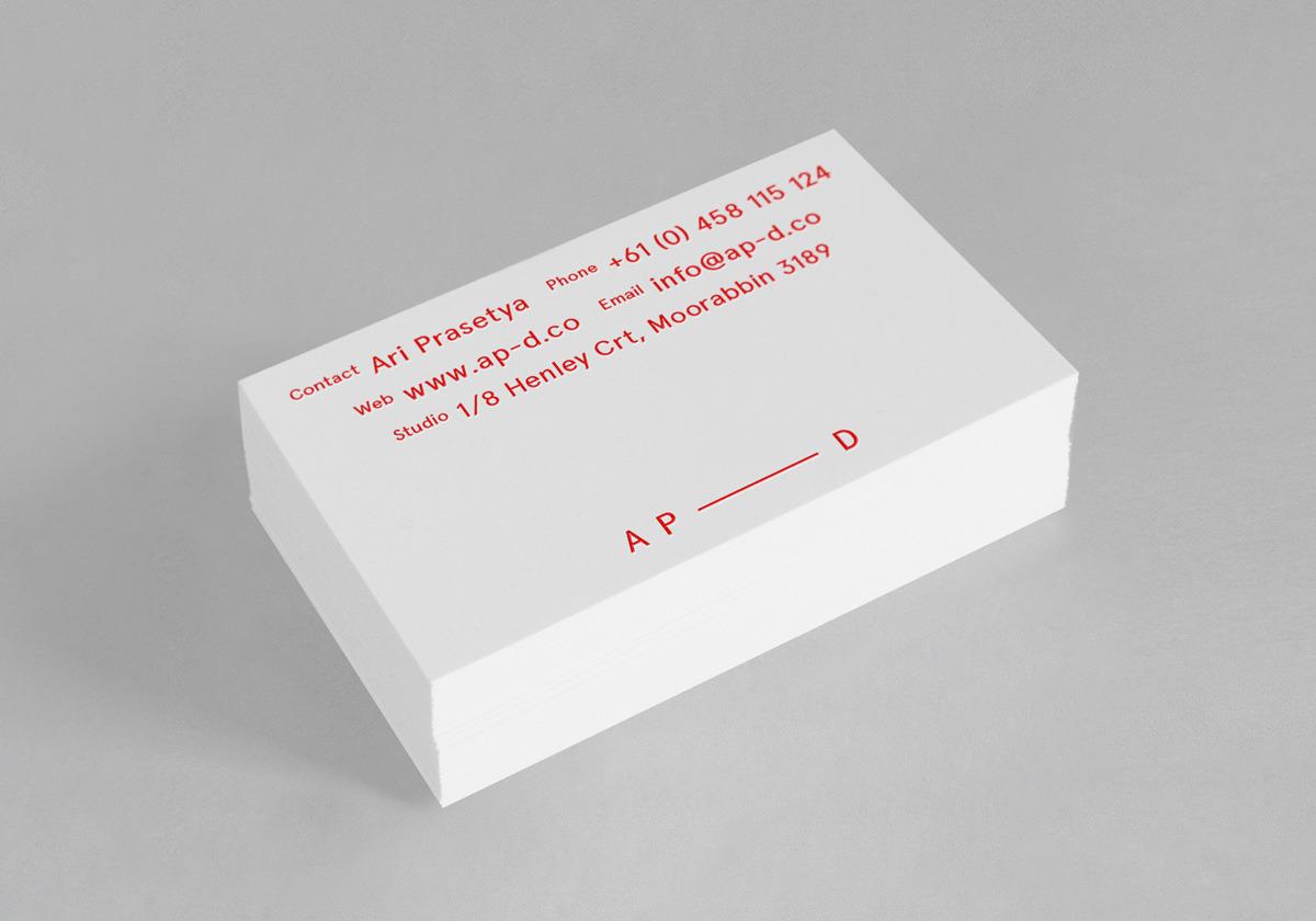 Surya Prasetya   Graphic Design   Melbourne   AP-D