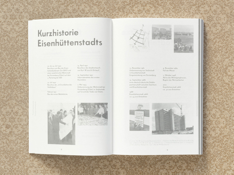 Planstadt Eisenhuettenstadt : reinhard-schmidt.com