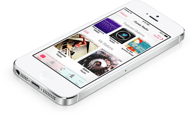 Apple - iTunes Radio - Hear where your music takes you.