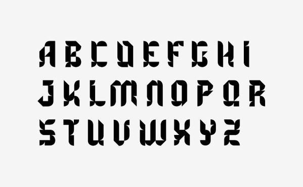 Benedictine type on Typography Served