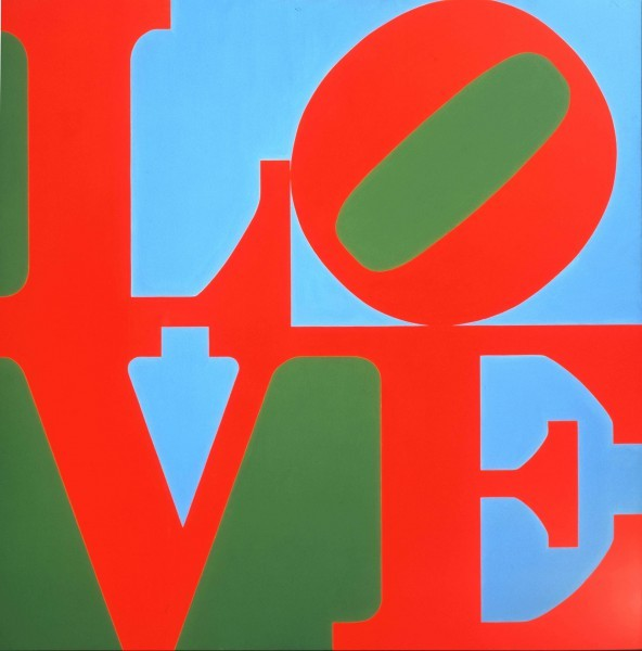LOVE | Robert Indiana | Pre-eminent figure of American art and pioneer of assemblage art, hard-edge abstraction, and pop art