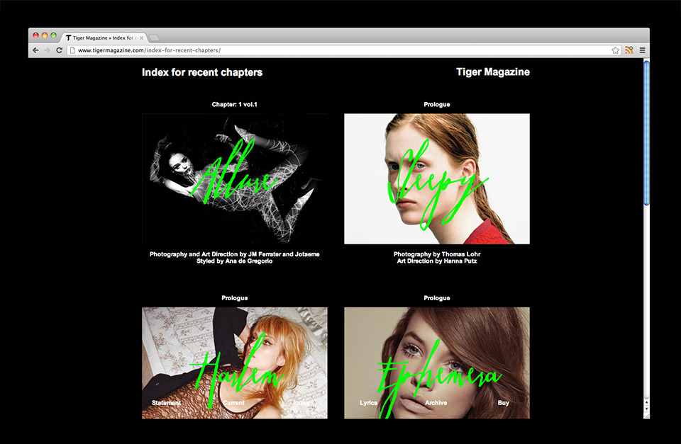 córdova — canillas: an art direction and design practice based in Barcelona founded by Diego Córdova and Martí Canillas » Tiger Magazine