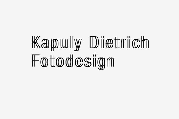 Kapuly Dietrich : B & R Grafikdesign