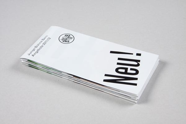 Junge Bühne Bern : B & R Grafikdesign