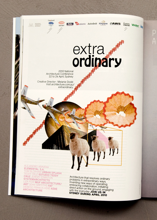 Australian design and the universe verses Studio Pip and Co. » extra/ordinary – 2010 National Architecture Conference