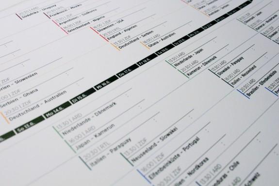 WM Spielplan 2010