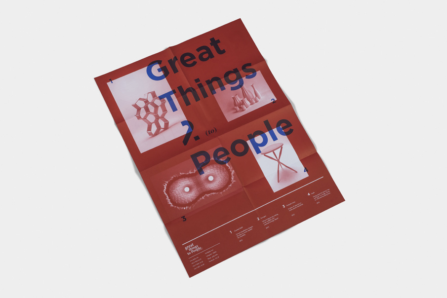 Print – Great Things to People - Sebastián Rodríguez