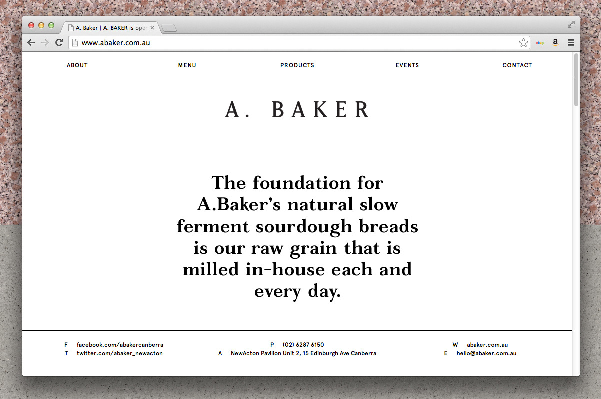 A. Baker | U-P