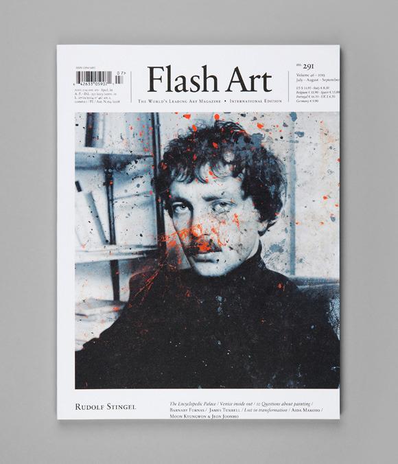 Flash Art in ARTnews format « Helmut Smits
