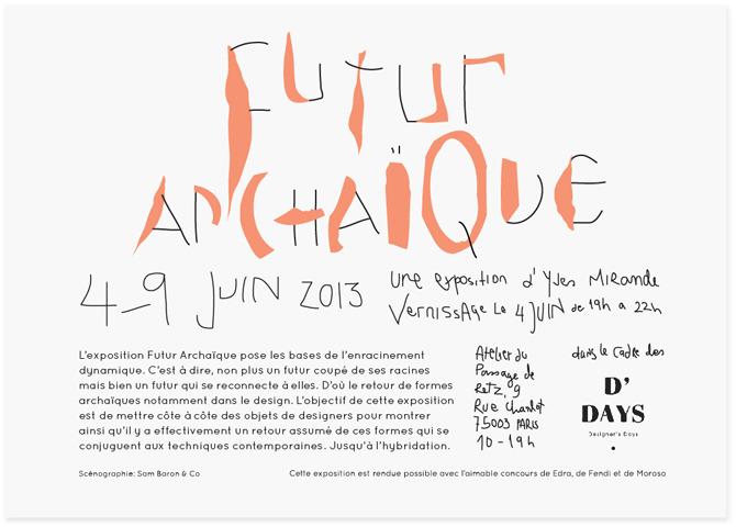 FUTUR ARCAIQUE - studioahha
