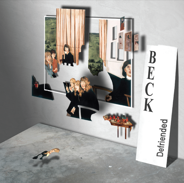 Beck - Defriended Single Cover - Ted Lovett Studio