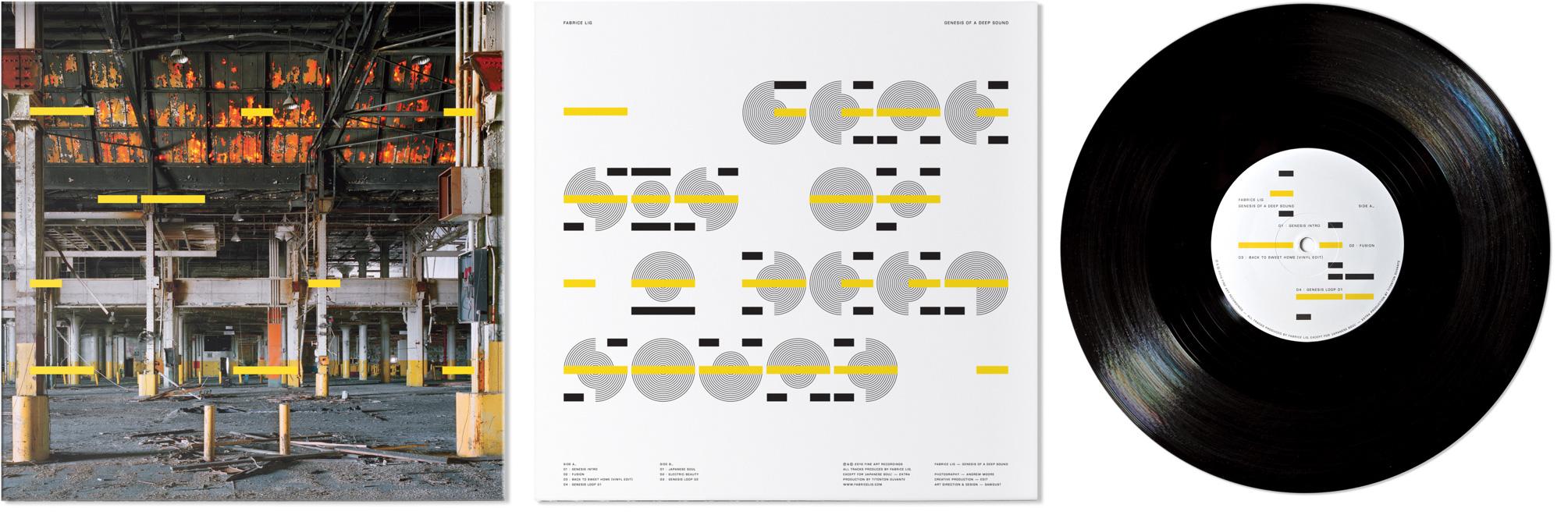 Work, Fabrice Lig Vinyl — Sawdust