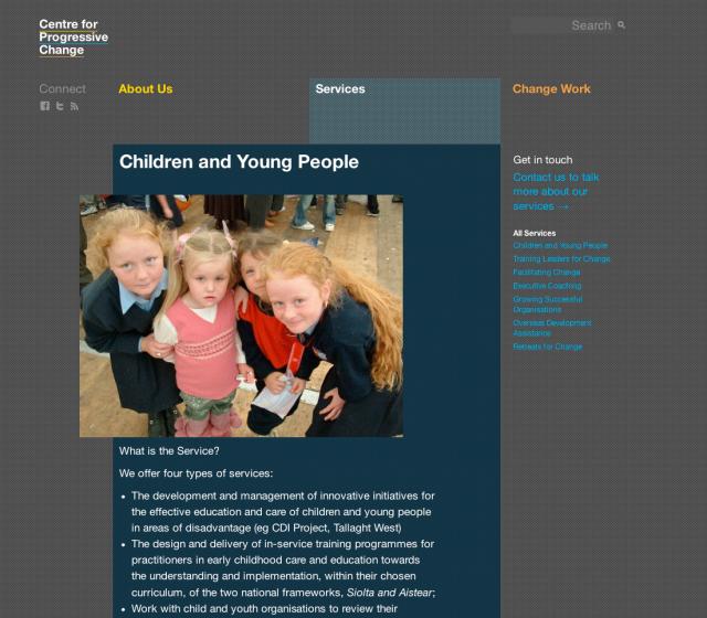 Conor & David - Centre for Progressive Change