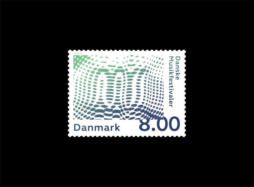 Music Festival stamps2013 - Kasper Pyndt