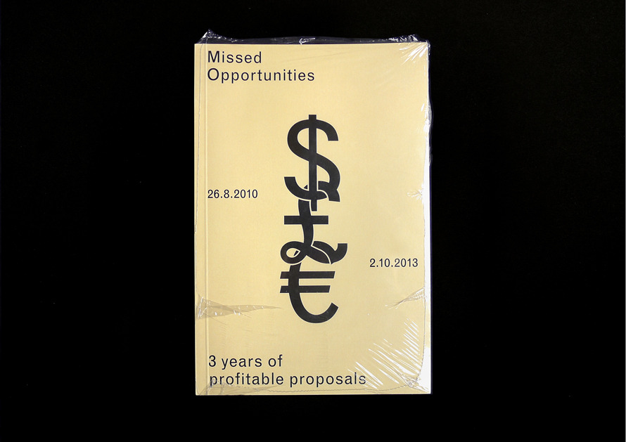 Missed Opportunities2014 - Kasper Pyndt