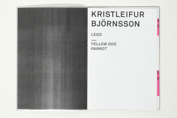 Kristleifur Björnsson; LEGO : JUNG + WENIG