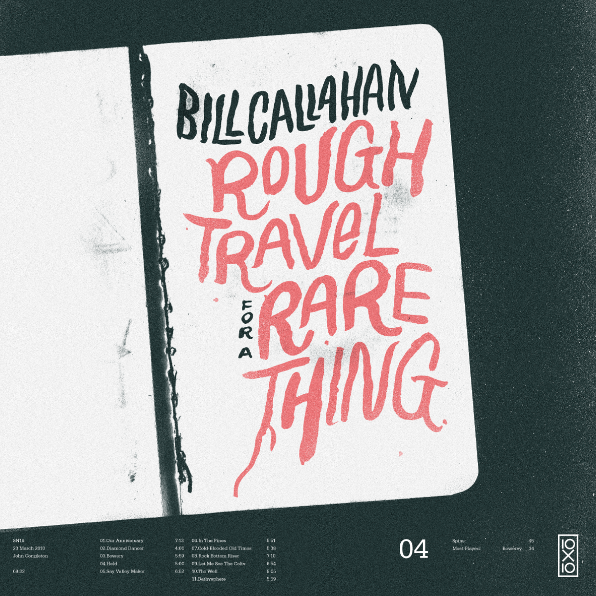 All sizes | 05. Bill Callahan - Rough Travel for a Rare Thing | Flickr - Photo Sharing!