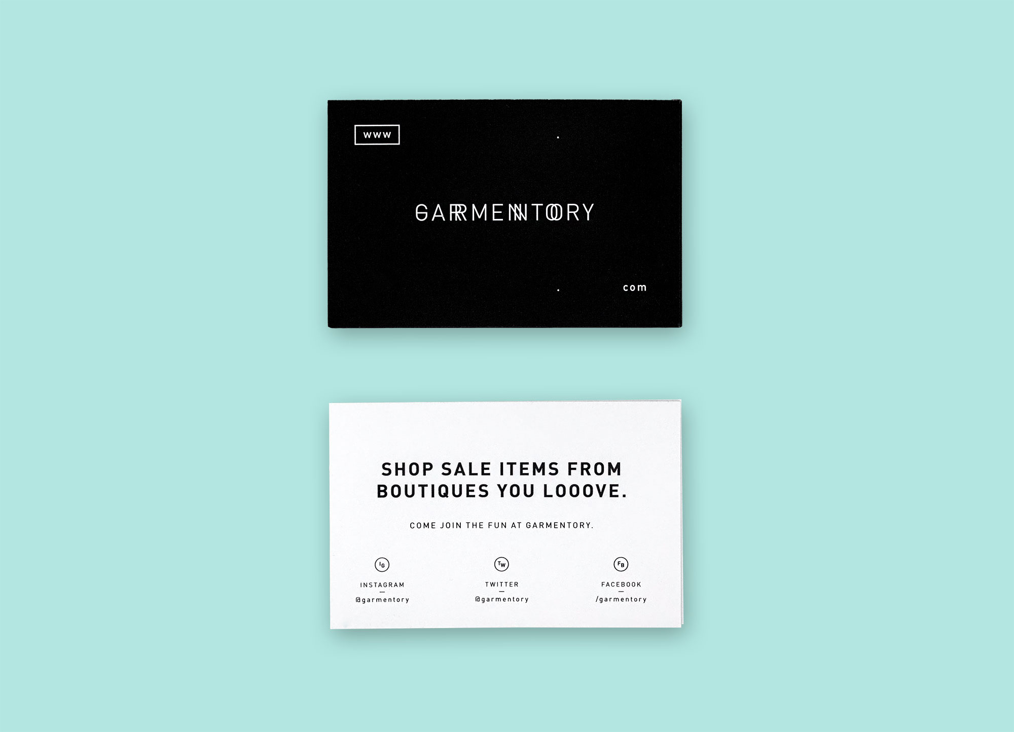 Garmentory (Printed Material) - Maggie Chok—Graphic Design
